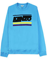 KENZO Distorted Logo Crew Sweat / Blue ケンゾー スウェット