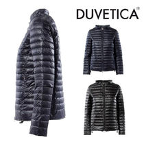 デュベティカ◆short down jacket with round collar 2色展開