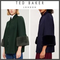 18-19AW★TED BAKER★RILLY ファーカフウールコート 国内発送