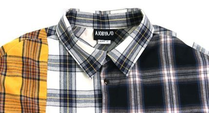 AJO AJOBYAJO シャツ 日本未入荷AJO AJOBYAJOのOver Check Color Mixed Shirt 全2色(3)