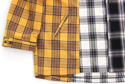 AJO AJOBYAJO シャツ 日本未入荷AJO AJOBYAJOのOver Check Color Mixed Shirt 全2色(4)