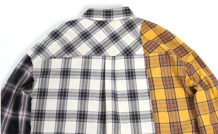 AJO AJOBYAJO シャツ 日本未入荷AJO AJOBYAJOのOver Check Color Mixed Shirt 全2色(5)