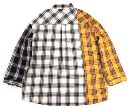 AJO AJOBYAJO シャツ 日本未入荷AJO AJOBYAJOのOver Check Color Mixed Shirt 全2色(6)