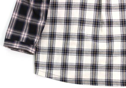 AJO AJOBYAJO シャツ 日本未入荷AJO AJOBYAJOのOver Check Color Mixed Shirt 全2色(7)