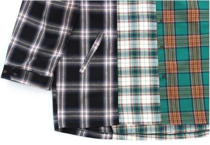 AJO AJOBYAJO シャツ 日本未入荷AJO AJOBYAJOのOver Check Color Mixed Shirt 全2色(11)