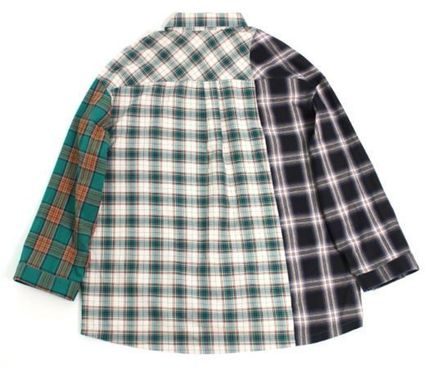 AJO AJOBYAJO シャツ 日本未入荷AJO AJOBYAJOのOver Check Color Mixed Shirt 全2色(12)