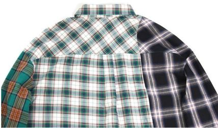 AJO AJOBYAJO シャツ 日本未入荷AJO AJOBYAJOのOver Check Color Mixed Shirt 全2色(13)