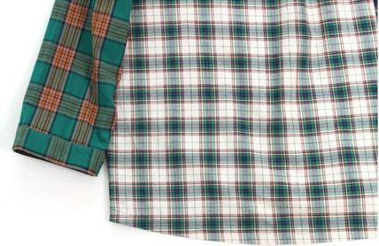 AJO AJOBYAJO シャツ 日本未入荷AJO AJOBYAJOのOver Check Color Mixed Shirt 全2色(14)