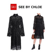★SALE★See by Chloe  レース シャツワンピース