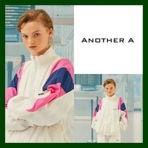 ANOTHER A(アナザーエー) ブルゾン 日本未入荷!【ANOTHER A】Zipup Track Jacket (WHITE)