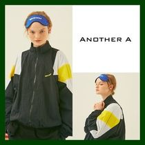 ANOTHER A(アナザーエー) ブルゾン 日本未入荷!【ANOTHER A】Zipup Track Jacket (BLACK)