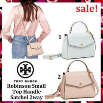 セール新作 Tory Burch Robinson Small Top-Handle Satchel 2Way