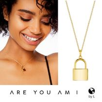 ARE YOU AM I(アーユーアムアイ) ネックレス・ペンダント 【ARE YOU AM I】LIRA ゴールド パドロック ネックレス*関送込