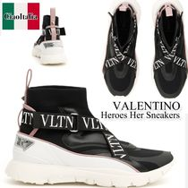 VALENTINO Heroes Her ハイトップ スニーカー