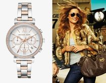 【Michael Kors】 Sofie Pave Two-Tone Watch MK6558 関税込み!