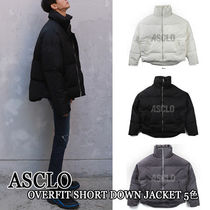 ASCLO★韓国の人気★OVERFIT SHORT DOWN JACKET 5色