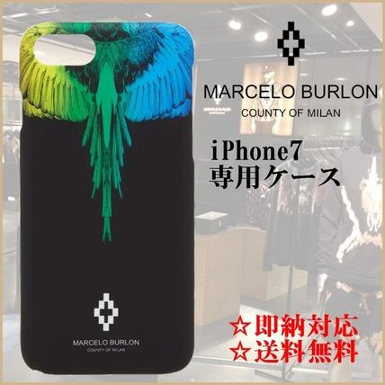 【即納・限定SALE】Marcelo Burlon iPhone 7専用ケース