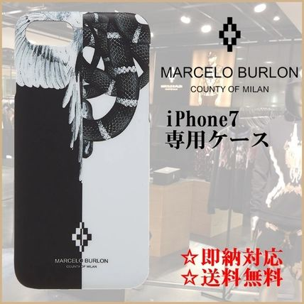 【即納・限定SALE】Marcelo Burlon iPhone 7専用ケースSNAKE