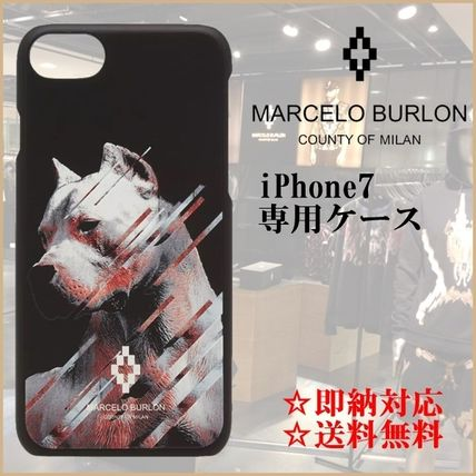【即納・限定SALE】Marcelo Burlon iPhone 7専用ケースDOG