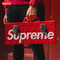 国内即発 18AW Supreme Diamond Plate Tool Box 工具箱 Red Logo
