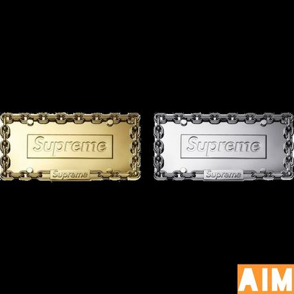 Supreme その他ファッション Supreme Chain License Plate Frame