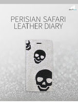 iPhone XS/X/XR ケース DreamPlus Persian Safari Leather Diary