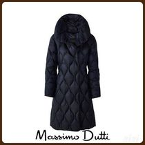 MassimoDutti♪LONG DOWN PUFFER COAT WITH TOPSTITCHING