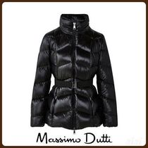 MassimoDutti♪DOWN JACKET WITH BELT