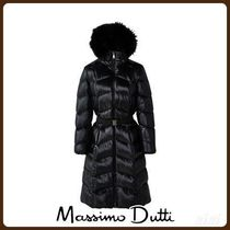 MassimoDutti♪LONG DOWN JACKET WITH BELT