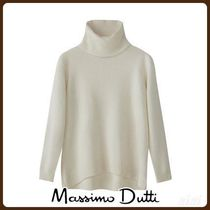 MassimoDutti♪OVERSIZED 100% CASHMERE SWEATER