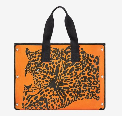 competitive price 2f49b efdf1 HERMES(エルメス)- Cheetah beach bag ビーチバッグ オレンジ