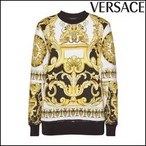 VERSACE(ヴェルサーチ)★Printed Cotton Sweatshirt