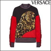 VERSACE(ヴェルサーチ)★Printed Pullover with Wool