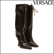 VERSACE(ヴェルサーチ)★Leather Knee Boots