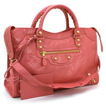 BALENCIAGA  GIANT 12 GOLD CITY  2WAYバッグ    ROSE