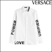 VERSACE(ヴェルサーチ)★Printed Cotton Shirt