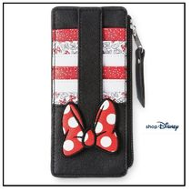 NY 発送★ディズニー  Minnie Mouse Bow Wallet