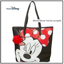 NY 発送★ディズニー  Minnie Mouse Tote by Loungefly