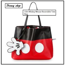 NY 発送 ★ ディズニー  I Am Mickey Mouse Reversible Tote Bag