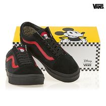 VANS X ディズニーコラボ★OLD SKOOL MICKEY MOUSE CLUB/BLACK