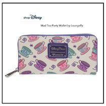 NY 発送★ディズニー Mad Tea Party Wallet by Loungefly