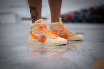 購入証明付the ten OFF-WHITE NIKE BLAZER MID ALL HALLOWS EVE