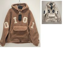 oioi オアイオアイ☆BIG LOGO FAKE FUR ANORAK