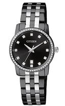 シチズン Citizen Women's ' Quartz Stainless Steel Casual Wat