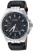 Citizen cb0160???00e World Perpetual a-tメンズ腕時計ブラック
