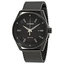 シチズン Citizen 腕時計 Drive Black Dial Men's Stainless Ste