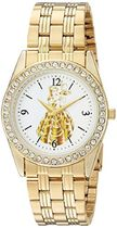 女性用腕時計Disney Women's 'Princess Belle' Quartz Metal and