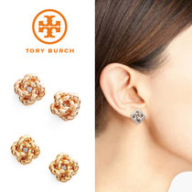 国内発送【TORY BURCH】Rope Knot Stud Earrings