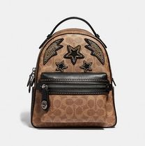 Coach ◆ 31632 Campus backpack 23 signature Rainbow crystal