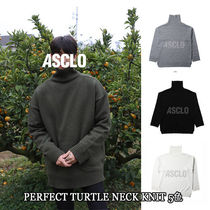 ASCLO★韓国の人気★PERFECT TURTLE NECK KNIT 5色
